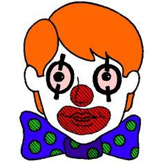 241 meilleures images du tableau dessin colorier et dessin non colorier coloring pages mandala - Tete de clown a imprimer ...