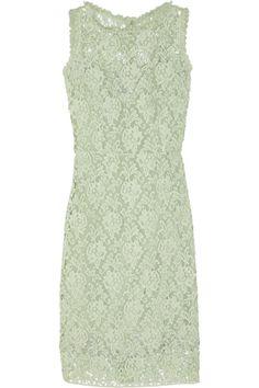 Dolce & Gabbana|Cotton macramé-lace dress|NET-A-PORTER.COM Product code: 374820 £1,605