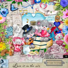 Love is in the air Kit (PU) by Louise L