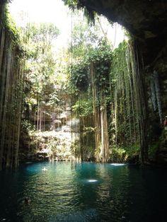 Cenote Ikil, Cancun