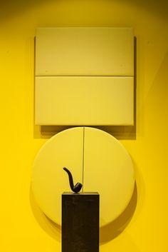 Arper Milano Salone del Mobile 2015 / Work Place 3.0 – Salone Ufficio // Parentesit wall panel by lievore altherr molina