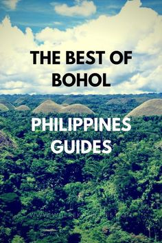 A guide to the best bits of what to do in Bohol