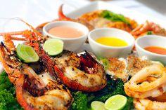 Herkuttele merenelävillä ja dippaile tulista ja makeaa!  #Diani_Beach #seafood  http://www.finnmatkat.fi/Lomakohde/Kenia/Diani-Beach/?season=talvi-13-14