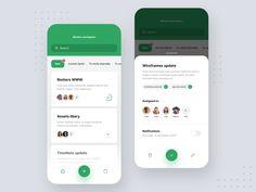 Team Manager designed by Filip Legierski for Riotters. Connect with them on Dribbble; Ui Design Mobile, App Ui Design, Interface Design, Dashboard Design, Flat Design, User Interface, Design Design, Graphic Design, Application Design