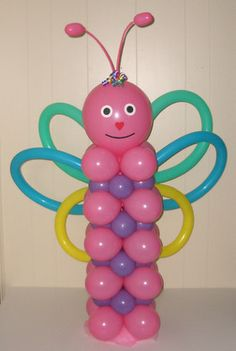 Air Filled Balloon Designs ~ butterfly
