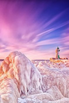 Lighthouse in the Baltic Sea