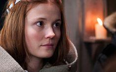 Amy Wren stars as Mildrith in the BBC adaptation of Bernatrd Cornwell's The Last Kingdom