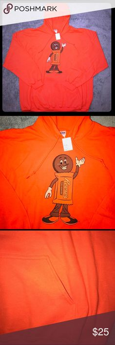 Reese's Peanut Butter Cups Men's Hershey Hoodie For sale is a NEW, Size XXL, Reese's Peanut Butter Cups Men's Hershey Hoodie. Item was purchased in Hershey earlier this year. Hershey Shirts Sweatshirts & Hoodies