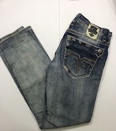 In great shape Rock Revival Jeans, Pants, Fashion Tips, Men, Ebay, Shape, Trouser Pants, Fashion Hacks, Fashion Advice