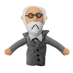 Sigmund Freud Plush Finger Puppet Magnet