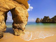 Dona Ana Beach Algarve Portugal