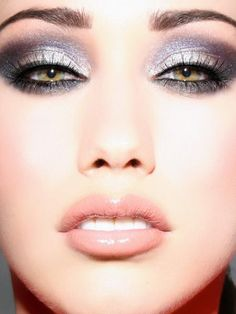 Beautiful Look for All Eyes - Recreate with Smokey Shimmer & Charcoal Eyeshadows & Black Liner -  gracemyfaceminerals.co