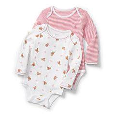 Cotton Body 2-Pack - Niña Polos, Tapas y Bodys - RalphLauren.com