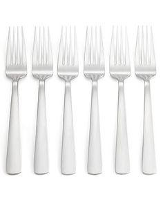 Oneida Set of 6 Aptitude Dinner Forks - Casual Dining - Kitchen - Macy's
