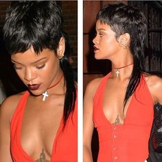 RiRi has a mullet! What do you think about this style?