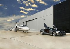 Mercedes & Private Jet