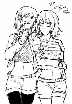 Echotale Chara and Frisk | Echotale