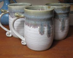 A personal favorite from my Etsy shop https://www.etsy.com/listing/523049021/pottery-mug-wheel-thrown-pottery-wheel