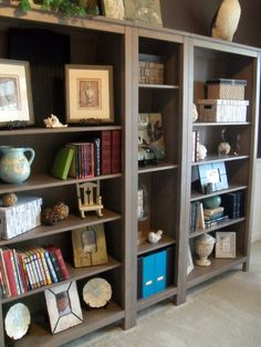 I Think Ikea Has The Solution To My Bookcase Problem In Dark Brown Of