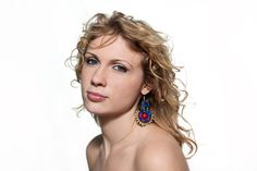Sutasz-Anka: Massai- earrings  Model: Agnieszka Trojan  Photo: Weronika Sadlik