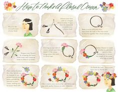 Flower Crown Art by TheRomanceBetween on Etsy