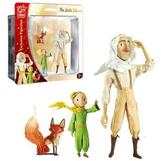 These exclusive toy figurines comes directly from The Little Prince animated movie and the most beloved story of all times. Manufactured by The Little Prince.