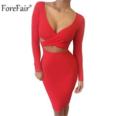Cheap clothing stores that sell dresses, Buy Quality dress creative directly from China clothing mannequin Suppliers: Blue Black White Long Sleeve Elastic Cotton Warm Winter Elegant Party Dresses 2015 Sexy Midi Pencil Club Bandage Bodycon Dress