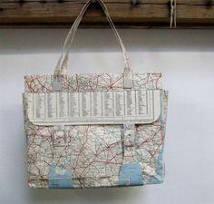 Bolso-Bag.  Artista Jennifer Collier #Reciclaje #Arte
