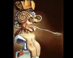 Retrato de Picasso, Salvador Dalí