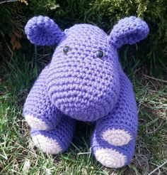 Check out this item in my Etsy shop https://www.etsy.com/listing/289800987/purple-hippo