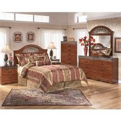 Shop for Fairbrooks Estate Queen Panel Headboard, Dresser & Mirror starting at at our furniture store located at 4014 N. City Furniture, Bedroom Furniture Sets, Bedroom Sets, Bedroom Decor, Modern Bedroom, Furniture Outlet, Mega Furniture, Bedroom 2018, Furniture Cleaning