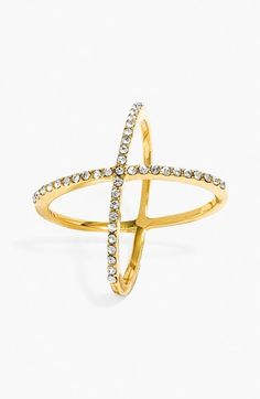 BaubleBar 'Mason' Pavé Ring available at #Nordstrom
