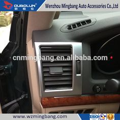 New Arriving! Car Styling Accessories For 2016-2017 Land Cruiser Toyota Left-driving side Air Vent Cover Front Side Outlet cover