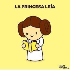 imperfect La Princesa Leía #MaytheFourth