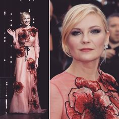 @kirstendunst in @gucci So Chic!! 💋#festival #cannes #cannes2016 #redcarpet #kirstendunst #gucci #love #instapic #fashion #style #inspiration #itagoutfits Kirsten Dunst, Fit S, Cannes, Insta Pic, Red Carpet, Gucci, Chic, Inspiration, Outfits