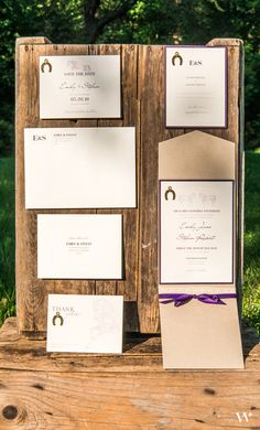 Give your guests a glimpse of your wedding style when you use themed stationery at your rustic wedding - like our Equestrian Love Collection: http://www.weddingstar.com/wedding-stationery/equestrian-love-stationery-collection