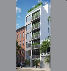 Balconied $2M Condos Sprouted on East Village Parking Lot - Development Du Jour - Curbed NY