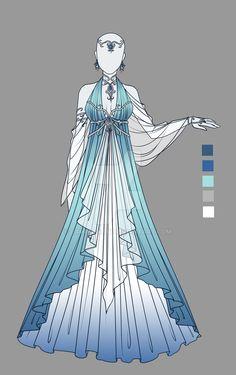 Adoptable outfit 7(closed) by LaminaNati.deviantart.com on @DeviantArt
