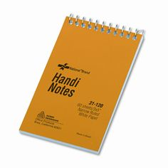 Wirebound Memo Book, Narrow Rule, 3 x 5, White, 60 Sheets/pad (Set of 6)