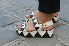 #SergioRossi #shoes #platform  #sophiemhabille