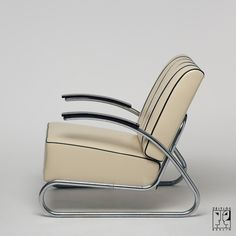 Lounge chair in Streamline-design - Image 2