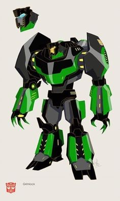Transformers News: Transformers: Robots In Disguise (Animated Series): Grimlock Concept Art