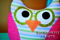 Stuffed Owl PDF Pattern | Stubbornly Crafty (4H project right here :))