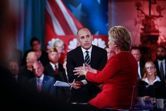 Matt Lauer Loses the War in a Battle Between the Candidates