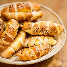 Croatian Recipes, Hungarian Recipes, Bread Recipes, Cooking Recipes, Croissant Bread, Crescent Rolls, Bakery, Good Food, Food And Drink