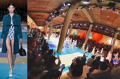 360度カメラでキャッチしたパリコレの裏と表Moe Tsukamoto