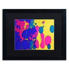 Colour Fun III by Beata Czyzowska Young Matted Framed Painting Print