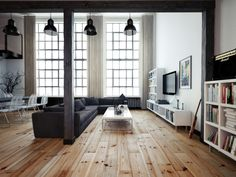 This Loft Designed By Oskar Firek Is Insanely Awesome