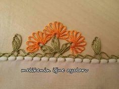 . Needle Tatting, Needle Lace, Needle And Thread, Yarn Crafts, Diy And Crafts, Embroidery Stitches, Hand Embroidery, Point Lace, Border Pattern