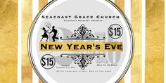 New Year's Eve event presented by Seacoast Grace Church in Cypress, CA. This will be an incredible night of celebrating with music, laughter, and fun; featuring - NBC's Ron McGehee, Moi Navarro from NBC's The Sing Off, Musical Artists- Green Apples, SCG Worship Band and Music provided by DJ Moozkit, as we dance into 2016.